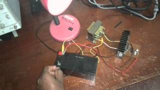 How to  make a Simple and Powerfull 12v to 230V Inverter Circuit Using two MOSFETs
