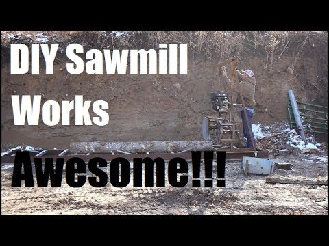 Xxx Mp4 Homemade Sawmill Works Awesome Milling Beams For Porch 3gp Sex