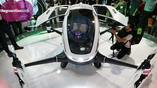 Passenger drone powered by batteries unveiled at CES