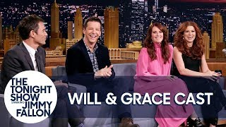 The Cast of Will & Grace Saw Sean Hayes Go Full Monty at a Harassment Seminar