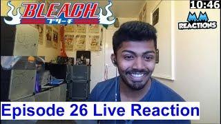 Ichigo vs Ikkaku!!  - Bleach Anime Episode 26 Live Reaction