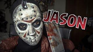 JASON SEXTA-FEIRA 13   Makeup Tutorial Friday the 13h - Maquiagem Artística