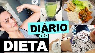 RESOLVI MUDAR?! PRIMEIRA SEMANA TENSAAA | DIÁRIO DA DIETA #1