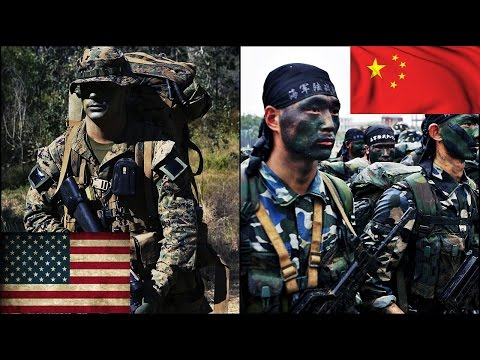 watch United States VS China Military Power Comparison   2016 HD
