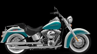 2016 Harley Davidson Softail Deluxe - Test Ride and Review - South San Francisco