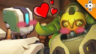 Overwatch Funny & Epic Moments - BASTION X ORISA - Highlights Montage 189