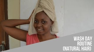 How I Wash, Treat, Condition and Style my Natural Hair | OmogeMuRa