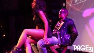 Sevyn Streeter Gives Mack Wilds a Lap Dance | Sex On The Ceiling