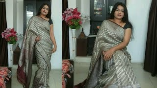 Gorgeous Way To Wear Wedding South Indian Silk Saree