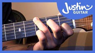 Fingerstyle Patterns Using Hammers & Flicks - Folk Guitar Lesson [FO-109]