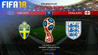 FIFA 18 World Cup - Sweden vs. England @ Samara Arena