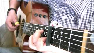 10000 Reasons (Bless the Lord) by Matt Redman - Fingerstyle Guitar Hymn Tab