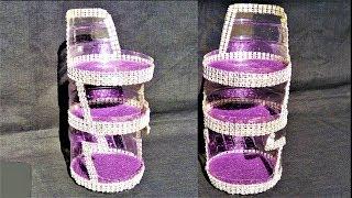 Plastic Bottle Craft | DIY Rack / Organizer From Single Plastic Bottle | Best Out Of Waste