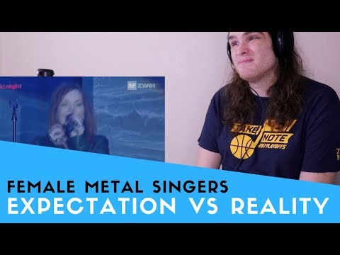 Voice Teacher Reacts to Female Metal Vocalists Expectations vs Reality