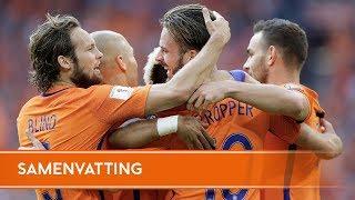 Highlights Nederland - Bulgarije (3/9/2017)