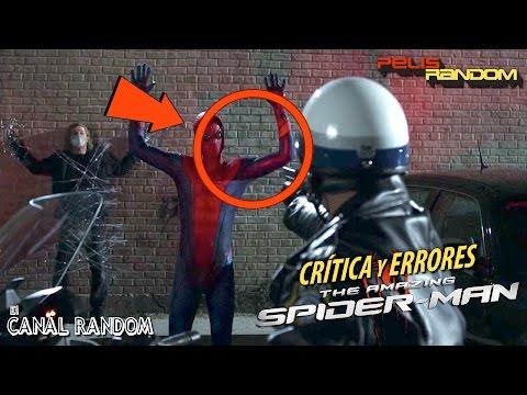 Errores de Películas The Amazing Spider-man Review Crítica Spiderman