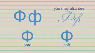 Russian alphabet and letter pronunciation