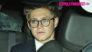 Niall Horan Of One Direction Leaves Justin Bieber's AMA After Party & Girls Go Crazy 11.22.15