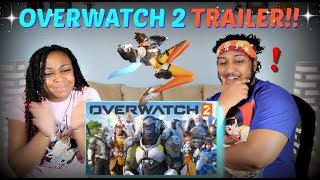 "Overwatch 2 Announce Cinematic | ""Zero Hour"" REACTION!!"