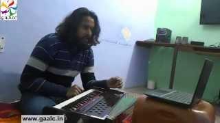 Learn singing 'Teri galiyaan' hindi movie film song online skype classes hindi vocal teachers