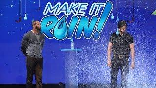 Milo Ventimiglia Gets Wet in 'Make It Rain'