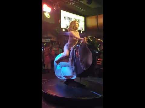 Xxx Mp4 Sexy Girl In Dress Rides Mechanical Bull 3gp Sex