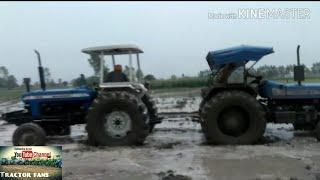 A tractor Tochan dekho New Holland 8630 vs sonalika 60