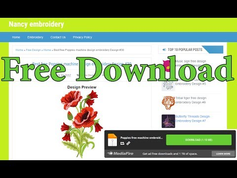 Xxx Mp4 How To Download Embroidery Designs For Free From MediaFire 3gp Sex