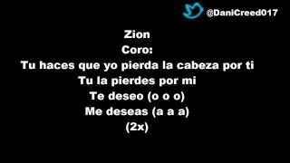 Zion & Lennox Ft Shadow Blow - Pierdo La Cabeza Letra Official [DANICREED017]