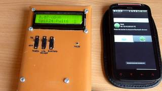 121201 Bluetooth Geiger Counter and Android Phone