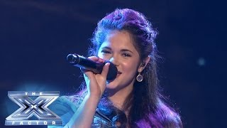 Khaya Cohen Sings For Survival - THE X FACTOR USA 2013