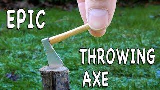 Meet the Mini Axe & Throwing Axe