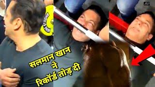 Salman Khan gym Centre video   Salman Khan Bharat movie latest news   Salman Khan body latest video