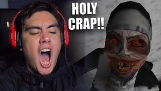 I SWEAR THIS NUN VIDEO IS CURSED | Evil Nun (Cursed Update)