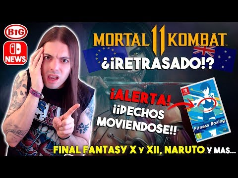 Xxx Mp4 ¡MORTAL KOMBAT 11 SWITCH RETRASADO FITNESS BOXING ¡PECHOS Y POLÉMICA Naruto Final Fantasy 3gp Sex