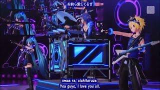 【Project Diva X】Cool Medley - KAITO ・Hatsune Miku ・Kagamine Len (English / Romaji Sub)