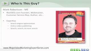 Video Marketing Expert talks about video marketing SEO