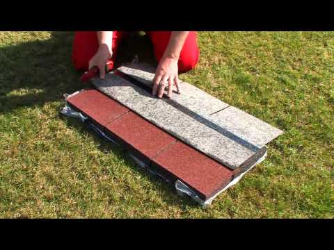 DIY How to apply shingles Easy Shingle on your roof garden shed