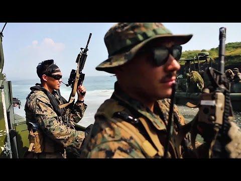 watch Philippine Marines Live-fire Training