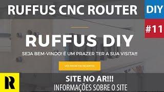 PRO CNC Caseira com Arduino - Site no Ar (Ruffus DIY)