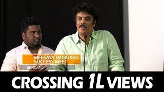"""My Wife Shouted At Me For Meesaya Murukku Dialogues"" - Sundar C | Meesaya Muruku Success Meet"
