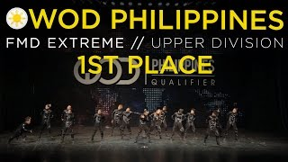 FMD Extreme | 1st Place Upper Division | World of Dance Philippines Qualifier 2015 | #WODPH2015