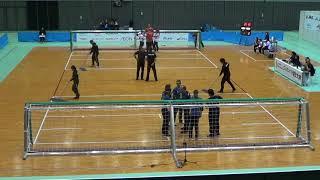 2019 Goalball Japan Para Championships Day 2 Turkey v Brazil 1st Half