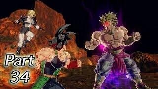 Dragon Ball Xenoverse PS4 Gameplay Walkthrough Part 34 - Final Battle - Broly vs Bardock!!