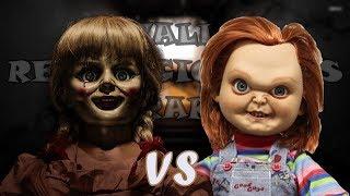 Chucky VS Annabelle l Batallas Revolucionarias Rap l T3 ( Halloween )