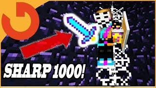 GIVING HACKER SHARPNESS 1000 GOD SWORD! (Minecraft Owner Trolling Hackers)