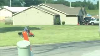 We did it again! Remote Control Lawn Mower Funny Prank - Part 4