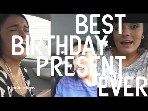 The Best Birthday Present EVER.