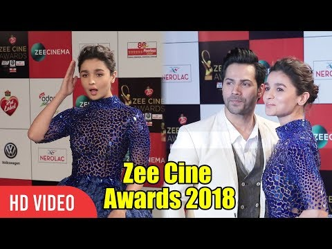 Xxx Mp4 Varun Dhawan And Alia Bhatt At Zee Cine Awards 2018 Varun Aur Alia Ki Jodi 3gp Sex