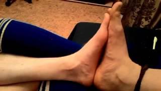 Boys feet #21: Feet play with free friend